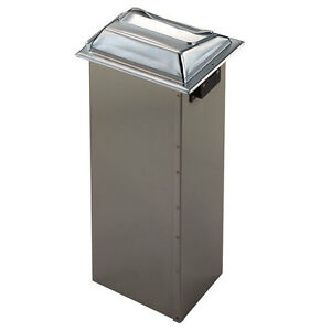 San Jamar H2001ss Napkin Dispenser Holds 750 Full fold Napkin Stainless Steel