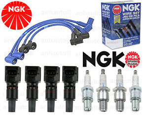 Ngk High Performance Wires platinum Spark Plugs coils Mazda Rx8