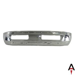 Front Chrome Bumper Face Bar For 1994 2001 Dodge Ram 1500 2500 3500 Pickup Truck
