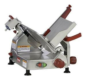 Berkel 825a plus 10 1 3 Hp Manual Gravity Feed Economy Series Slicer