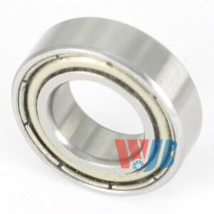 Stainless Steel Miniature Ball Bearing S687 zz With 2 Metal Shields 7x14x8mm