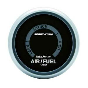 Autometer Sport comp 2 1 16 Narrowband Air fuel Ratio Lean rich Gauge
