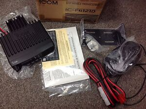 Icom Ic f6121d Uhf Mobile Transceiver 128 Ch New In Box