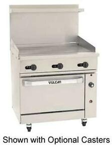 Vulcan 36s 36g Endurance 36 Range With Manual Griddle With Standard Oven