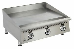 Star 836ma Ultra max Countertop 36in Manual Control Gas Griddle