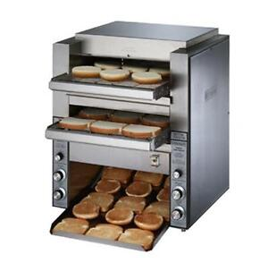Star Dt14 Holman Double 14in W Belt 1000 Slices hr Conveyor Toaster