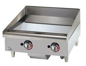 Star 624tchsf Star max 24in Chrome Thermostatic Gas Griddle
