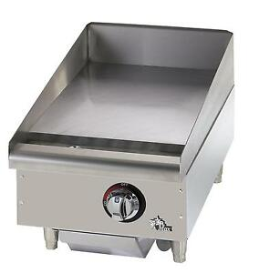 Star 615mf Star max Countertop 15in Manual Gas Griddle