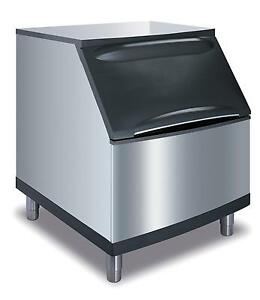 Manitowoc B 400 290lb Ice Storage Bin Stainless 30 Wide With Legs