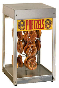 Star 16pd a Countertop Glass Revolving Pretzel Merchandiser
