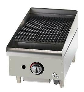 Star 6115rcbf Star max Countertop 15in Radiant Gas Charbroiler