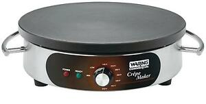 Waring Wsc160x 16 Crepe Maker With Heat Resistant Handle 1800w
