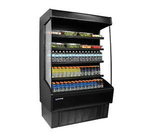 Master bilt Voam48 79 48in X 79in Vertical Open Air Refrigerated Merchandiser