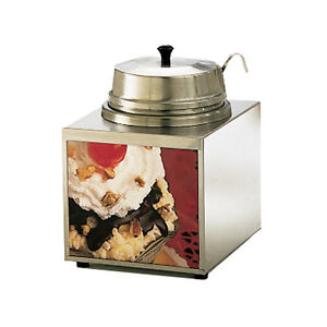 Star 3wla w 3 5 Quart Stainless Steel Countertop Food Topping Warmer