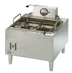 Star 301hlf Star max 15lb Countertop Electric Deep Fryer
