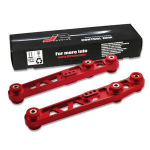 J2 88 95 Civic Crx Red Aluminum Traction Rear Lower Control Toe Arm Bar Bushing