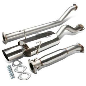 Fit 02 06 Acura Rsx Dc5 Type S K20a2 4 Oval Muffler Tip Racing Catback Exhaust