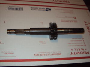 B 6000 Kubota Tractor Gear Shaft Part 66601 14612 66611 14852 Reverse 18 22