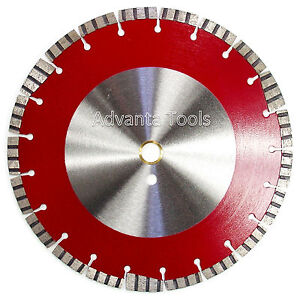12 Diamond Saw Blade For Asphalt Hard Concrete Block Refractory Brick Stone