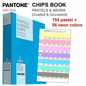 Pantone Color Plus Series Gb1504 Pastels Neons Chips Book coated Uncoated
