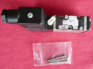 Smc Solenoid Air Control Valve Vfs2110 3dc 1e3 2pt Made In Japan