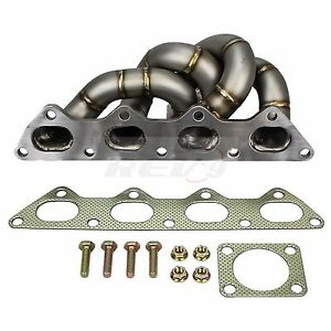 Hp series Eclipse 4g63 Gst Gsx Eagle Talon Tsi Equal Length Turbo Manifold 42mm