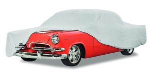 1935 Willys 77 Single Seat Coupe Custom Fit Grey Cotton Plushweave Car Cover