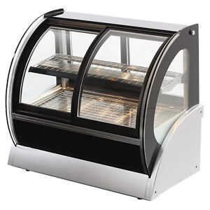 Vollrath 40881 48 Curved Glass Cooler Display Case W Front Rear Access
