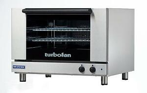 Moffat E27m2 Turbofan Electric Convection Oven Full Size 2 Pan Manual