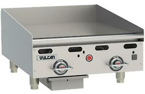 Vulcan Msa24 Msa series 24 Snap Action Thermostatic Gas Griddle