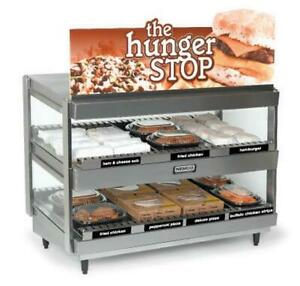 Nemco 6480 24 b 24x19 Heated Display Shelf Merchandiser For Multi product