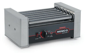 Nemco 8010sx Roll a grill 10 Hot Dog Grill Roller