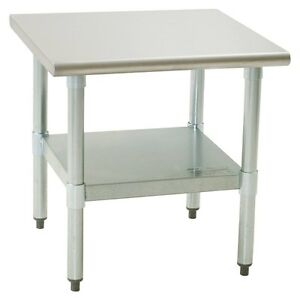 Eagle Group Ms3036s Stainless 30 X 36 Equipment Mixer Stand W Undershelf