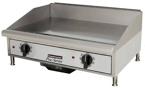Toastmaster Tmge24 Countertop 24 Thermostatic Control Electric Griddle