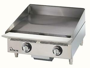 Star 824ma Ultra max 24in Manual Gas Griddle