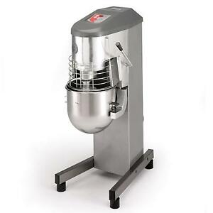 Sammic Be 30 30qt Planetary Mixer 20 Lb Flour Capacity W Attachments