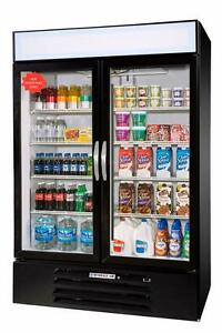Beverage air 49 Cuft Marketmax Two door Reach in Cooler W Led Lighting
