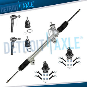 7pc Complete Power Steering Rack And Pinion Suspension Kit For Sierra 1500 2wd