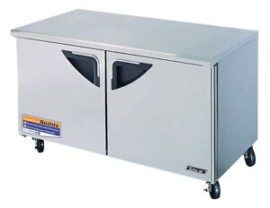 Turbo Air 60in Under Counter Refrigerator Cooler Tur 60sd