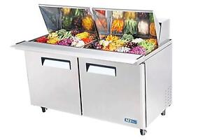 Turbo Air 60 Mega Top Sandwich Salad Prep Cooler 24 Pans Mst 60 24