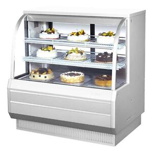Turbo Air 48 5 Curved Glass Refrigerated Bakery Display Case Cooler Tcgb 48 2