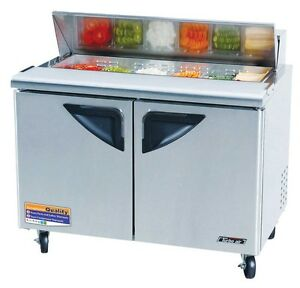 Turbo Air 48in Sandwich Salad Prep Cooler Tst 48sd
