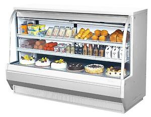 Turbo Air 72 5 High Profile Curved Glass Deli Case Cooler 2 Shelves Tcdd 72 2 h