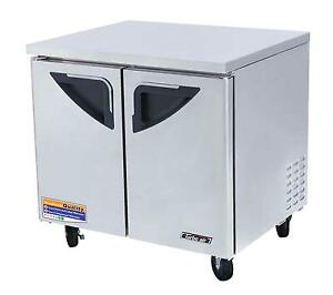 Turbo Air 36 Undercounter 10 5 Cu ft Stainless Cooler Tur 36sd