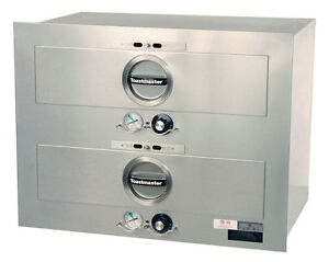 Toastmaster 3b20at Two Drawer Electric Hot Food Server Warmer Built In Unit