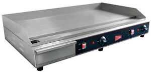 Gmcw El1636 Commercial 36 Electric Griddle Counter Top Flat Grill