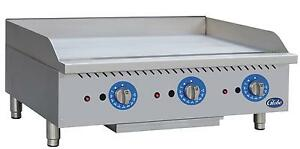 Globe Gg36tg 36 Counter Top Natural Gas Griddle W Thermostatic Controls