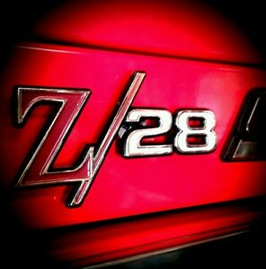 Camaro Z 28 Magnets for Your Snapon Toolbox 2 3