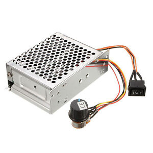 40a 10v 50v Pwm Dc Motor Speed Control Controller Cw Ccw Reversible Pulse Driver