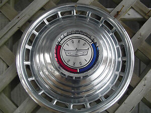 1963 Ford Galaxie 500 Hubcap Wheel Cover Center Cap Antique Vintage Classic